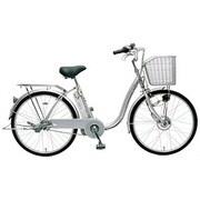CY-SPF224-S-H [電動アシスト自転車(24型) シルバー 電動ハイブリッド自転車 eneloop bike(エネループバイク)]