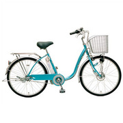 CY-SPF224-L-H [電動アシスト自転車(24型) ブルー 電動ハイブリッド自転車 eneloop bike(エネループバイク)]