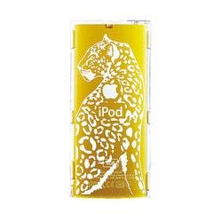 EIAP01PA [第4世代 iPod nano用 クリアジャケット earth wear 絶滅危惧種コレクション アムールヒョウ]