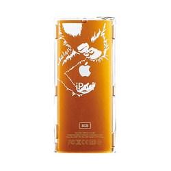 EIAP01PP [第4世代 iPod nano用 クリアジャケット earth wear 絶滅危惧種コレクション オランウータン]