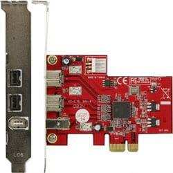 IEEE1394B-PCIE [PCI-Expressx1接続 IEEE1394bインターフェースボード ロープロファイル対応]