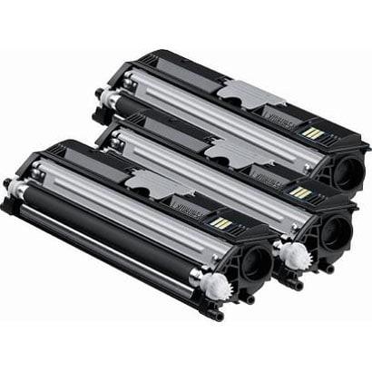 TVP1600K [magicolor 1600W用 ブラックトナーバリューパック 大容量トナーカートリッジ ブラック 3本セット]