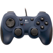 GPX-450BL [USB接続 ゲームコントローラー 12ボタン ブルー Dual Action PC Game Controller]