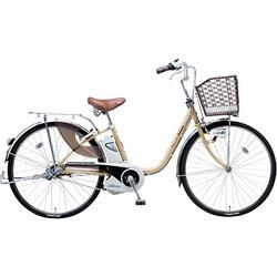 BE-END43T [電動アシスト自転車(24型) ミルクティ リチウムビビ・DX]