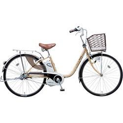 BE-END63T [電動アシスト自転車(26型) ミルクティ リチウムビビ・DX]
