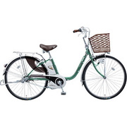 BE-ENE43G [電動アシスト自転車(24型) ターコイズ リチウムビビ・EX]