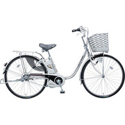 BE-ENE43S [電動アシスト自転車(24型) プラズマシルバー リチウムビビ・EX]