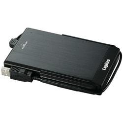 LHD-PBF500U2BK [USB接続 外付ハードディスク ブラック 500GB]