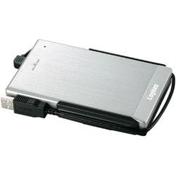 LHD-PBF500U2SV [USB接続 外付ハードディスク シルバー 500GB]