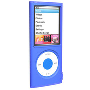 SUMLN4G-BL [第4世代 iPod nano用 シリコンケース ブルー]