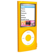 SUMLN4G-OR [第4世代 iPod nano用 シリコンケース オレンジ]