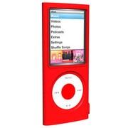 SUMLN4G-RD [第4世代 iPod nano用 シリコンケース レッド]