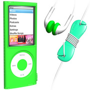 SUMLN4G-SKT-GR [第4世代 iPod nano用 スターターキット グリーン]