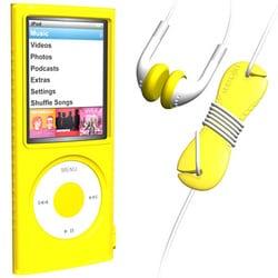 SUMLN4G-SKT-YE [4th iPod nano用スターターキット イエロー]