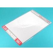 楽しい工作シリーズ 透明プラバン 0.2mm厚 B4サイズ(5枚入) [70126]