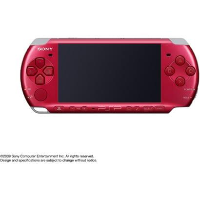 PSP(プレイステーション・ポータブル) ラディアントレッド PSP-3000RR [PSP本体]