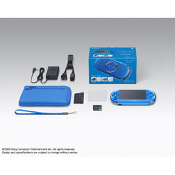 PSP(プレイステーション・ポータブル) バイブラントブルー バリューパック PSPJ-30002