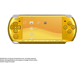 PSP(プレイステーション・ポータブル) ブライトイエロー PSP-3000BY