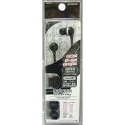 RB8TE01 [NTT docomo & SoftBank外部接続端子ステレオイヤホン 視聴専用 カラータイプ・BK]