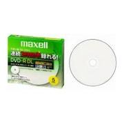 DRD215WPB.5S [録画用DVD-R DL 215分 2-8倍速 CPRM対応 5枚 インクジェットプリンター対応]