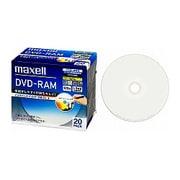 DM120PLWPB.20S [録画用DVD-RAM 120分 2-3倍速 CPRM対応 20枚 インクジェットプリンター対応]