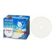 CDRA80WP.20S [音楽用CD-R 80分 20枚]
