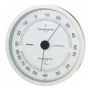 EX-2747 [スーパーEX高品質温度・湿度計(シャインシルバー)]