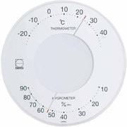 LV-4303 [セレナ温・湿度計 ホワイト]