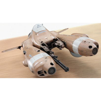 MK01 反重力装甲戦闘機 Pkf.85 ファルケ [1/20スケール プラモデル]