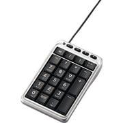 TK-TCM001SV [USB接続 テンキーパッド ホットキー付 シルバー]