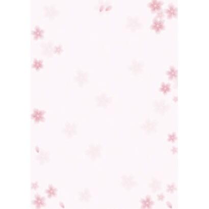 4-1805 [和柄用紙 和ごころ 桜 A3]