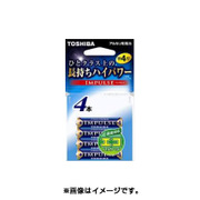 LR03H 4ECY [アルカリ乾電池 単4形 4本 エコパッケージ]