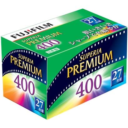 フジカラー SUPERIA PREMIUM 400 135-27枚撮