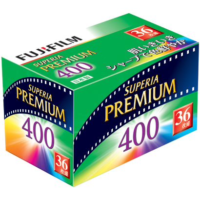 フジカラー SUPERIA PREMIUM 400 135-36枚撮