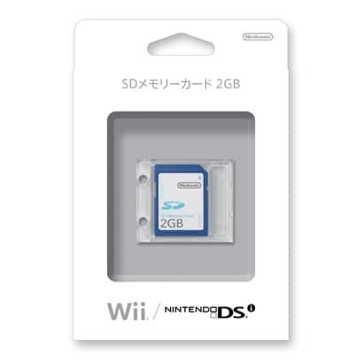 SDメモリーカード2GB RVL-A-SD2 [Wii/DSi用]