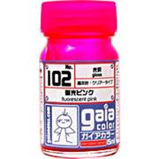 102 [ガイアカラー 蛍光ピンク 15mL 光沢]