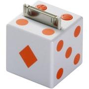 BSSP05IOR [iPod専用サイコロ型ミニスピーカー オレンジ OTOKORO]