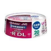 VD-R215CS20 [録画用DVD-R DL 215分 2-8倍速 CPRM対応 20枚 インクジェットプリンタ対応]
