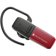 LBT-HS300C2RD [ハンズフリーヘッドセット Bluetooth Ver 2.1+EDR対応 レッド]