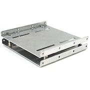 PMU-088 [3.5インチベイ用2.5インチHDD取り付けマウンタトレー シルバー]
