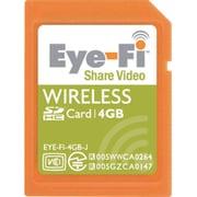 EYE-FI-4GB-J [SDHCカード 4GB Eye-Fi Share Video 無線LAN内蔵]