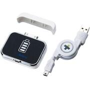 "TR-MBI-WT [iPod/iPhone用 LEDモバイルバッテリー 1000mAh ""Simplism MobileBattery(シンプリズム モバイルバッテリー 1000mAh )"" ホワイト]"