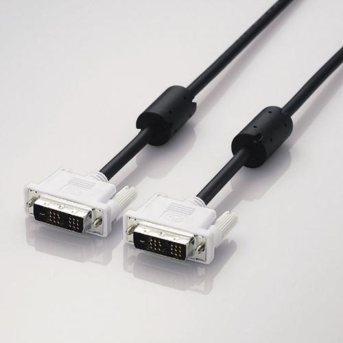 CAC-DVSL10BK [DVIシングルリンクケーブル(デジタル) DVI-D 24ピンオス-DVI-D 24ピンオス 1m]