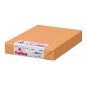 ナ-4268 [色上質紙 中厚口 B5 オレンジ 500枚]