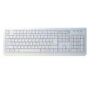 OWL-KB104SFD(W)/E [USB・PS/2接続 ASCII配列 104キー 英語キーボード ホワイト]