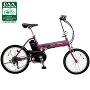 BE-ENW07R [電動アシスト自転車(前18型/後20型) マットラズベリー OFF TIME(オフタイム)]