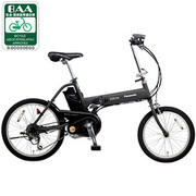 BE-ENW07B [電動アシスト自転車(前18型/後20型) マットブラウニッシュブラック OFF TIME(オフタイム)]