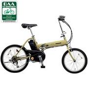 BE-ENW07Y [電動アシスト自転車(前18型/後20型) マットコロニアルイエロー OFF TIME(オフタイム)]