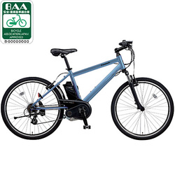 BE-ENH67V [電動アシスト自転車(26型) グレイッシュブルー ハリヤ]