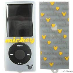 YU-515071 [第4世代 iPod nano用 ミュウポッズシリコンケース ホワイト×イエロー]